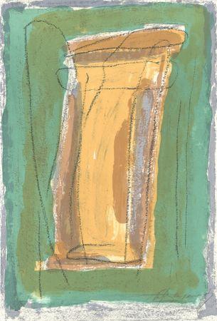 Lithograph Ràfols Casamada - La tardor 3 / Autumn 3