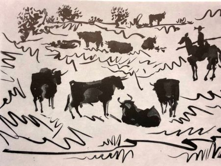 Drypoint Picasso - La Tauromaquia