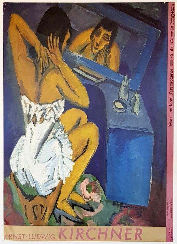 Offset Kirchner - La Toilette Femme au  Miroir