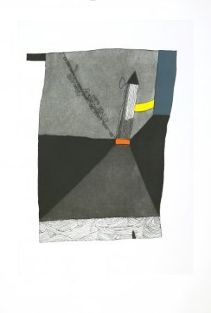 Etching And Aquatint Benmayor - La torre del camino