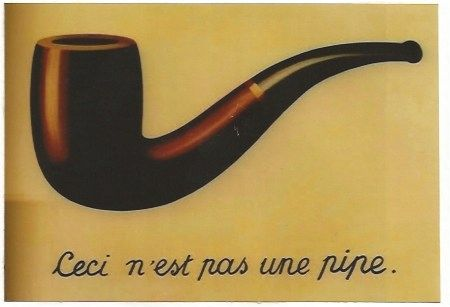 Lithograph Magritte - La trahison des images (Ceci n'est pas une pipe)