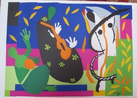 Lithograph Matisse - La tristesse du roi