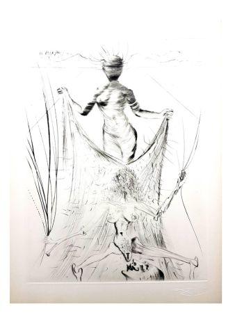 Lithograph Dali - La Vénus aux Fourrures