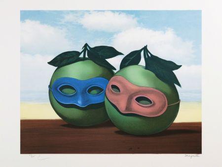 Lithograph Magritte - La Valse Hésitation