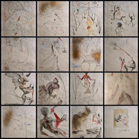 Etching Dali - La Venus aux Fourrures Complete Suite