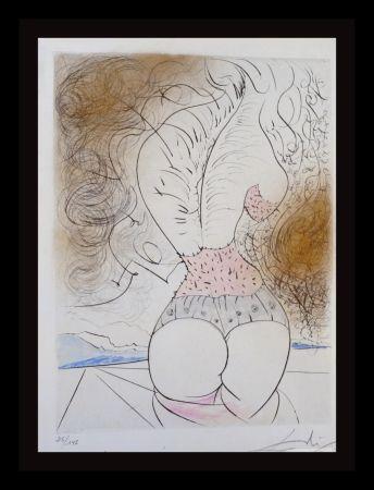 Etching Dali - La Venus Aux Fourrures The Torso