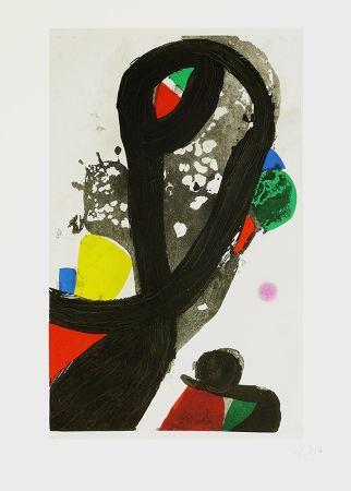 Etching Miró - La veuve de corsaire