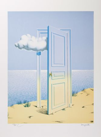 Lithograph Magritte - La Victoire (The Victory)