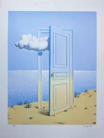 Lithograph Magritte - La Victore (Victory)