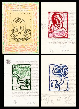 Illustrated Book Alechinsky - La vie comme elle tourne