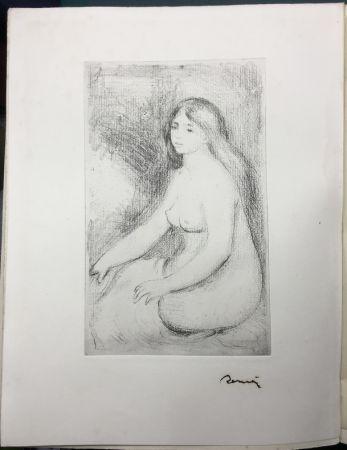 Engraving Renoir - LA VIE ET L'ŒUVRE DE PIERRE-AUGUSTE RENOIR (A. Vollard 1919)