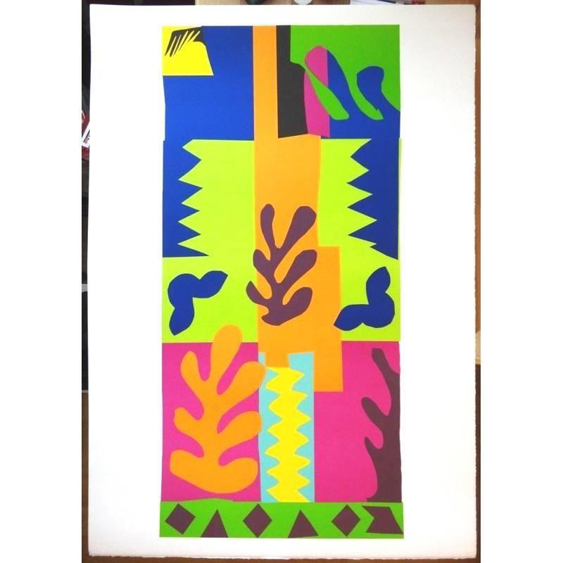 Lithograph Matisse - La Vis