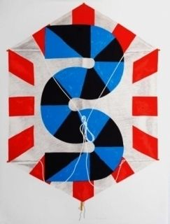 Lithograph Sugai - La vitesse du vent