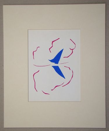 Lithograph Matisse (After) - La voile - 1952