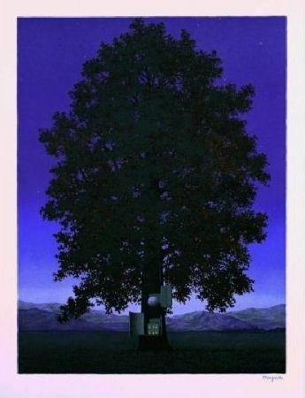 Lithograph Magritte - La Voix du Sang, 1959