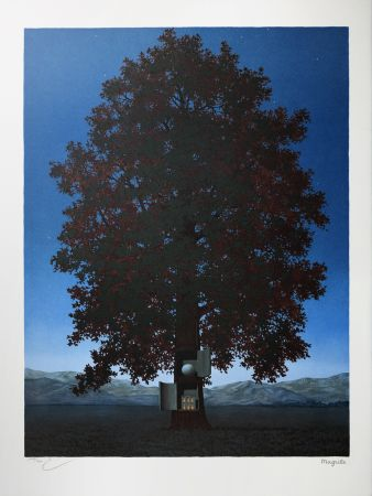 Lithograph Magritte - La Voix du Sang (The Voice of Blood)