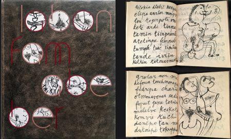Illustrated Book Dubuffet - LABONFAM ABEBER PAR INBO NOM