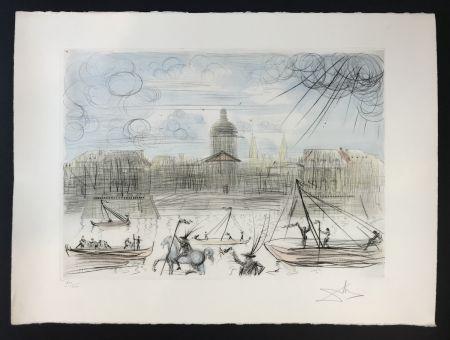 Engraving Dali - L'Académie de Paris
