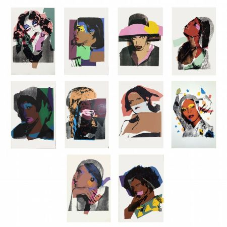 Screenprint Warhol -  Ladies And Gentlemen (Fs Ii.128-137)