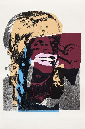 Screenprint Warhol - Ladies and Gentlemen, Orange (FS II.133)