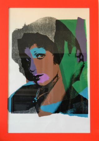 Screenprint Warhol - Ladies And Gentlemen, Plate 5