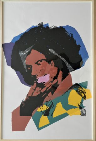 Screenprint Warhol - Ladies and Gentlemen, plate 5