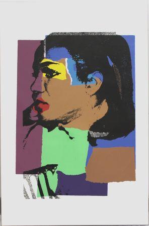 Screenprint Warhol - Ladies and Gentlemen Portrait (FS II.129)
