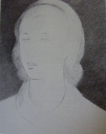 Etching Marcoussis - Lady Abdy