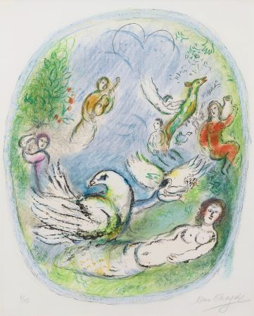 Lithograph Chagall - L'Age d'Or