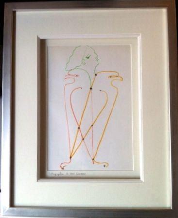 Lithograph Cocteau - L'aigle a 2 têtes