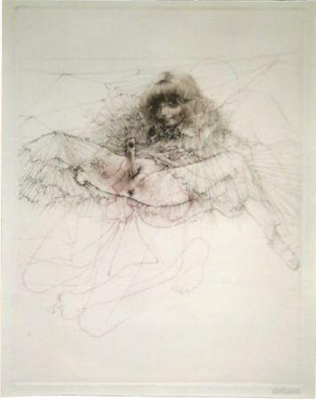 Aquatint Bellmer - L'aigle mademoiselle