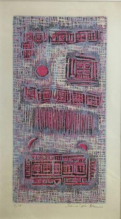 Woodcut Rhee - L'Aile Virginale du feu