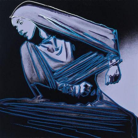 Screenprint Warhol - Lamentation