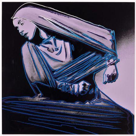 Lithograph Warhol - Lamentation