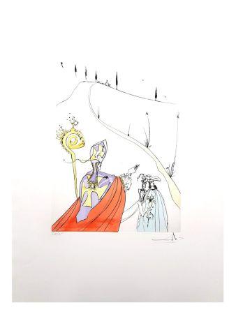 Lithograph Dali - L'Amour Sacré de Gala