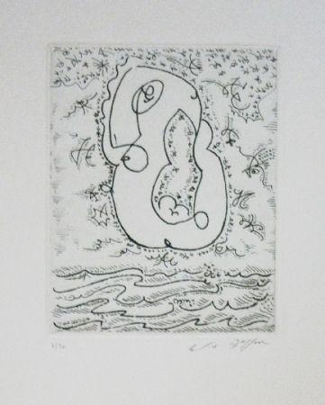 Etching And Aquatint Masson - L'amour sur les flots