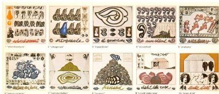 Etching And Aquatint Pozzati - L'anatomia della bellezza
