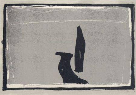 Lithograph Hernandez Pijuan - Landscape-5