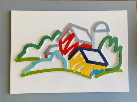 Ceramic Wesselmann - Landscape II- 3D Objekt