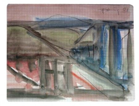Multiple Forg - Landscape with Roofs