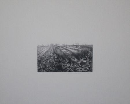 Lithograph Siegert - Landschaft