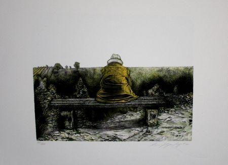 Lithograph Siegert - Landschaft wie ich sie kenne
