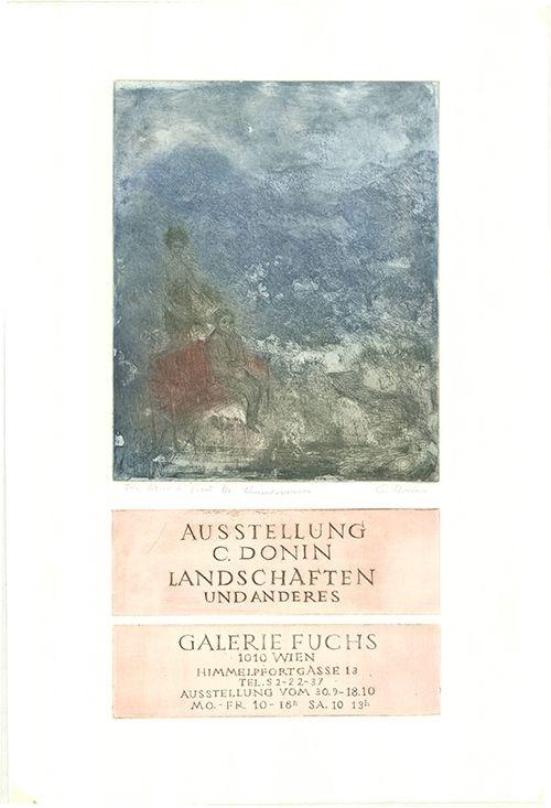 Etching Donin - Landschaften und Anderes