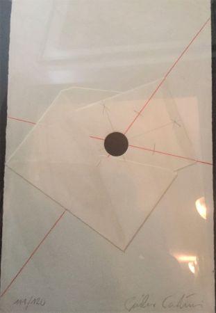 Screenprint Paolini - L'anello immaginario