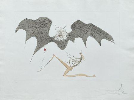 Lithograph Dali - L'ange de la mélancolie