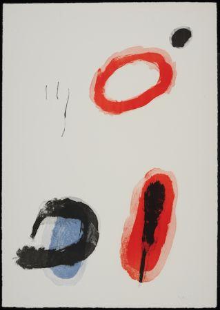 Lithograph Miró - L'anneau