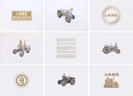 Lithograph Hamilton - Lanz Project
