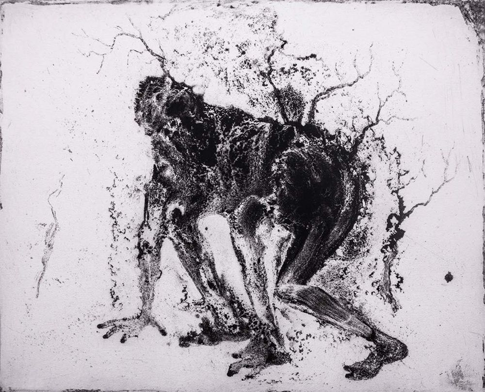 Etching And Aquatint Barcelo - Lanzarote 11