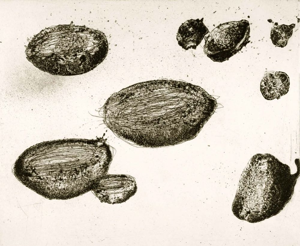 Etching And Aquatint Barcelo - Lanzarote 22