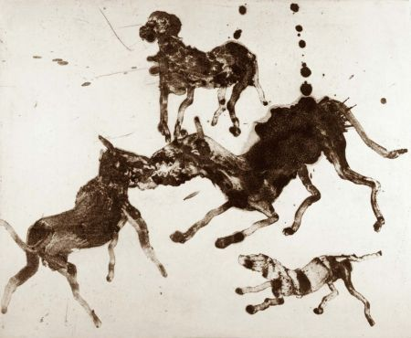 Etching And Aquatint Barcelo - Lanzarote 3